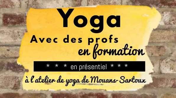Yoga avec des professeurs en formation (gratuit)